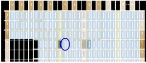 Ресурсы кристалла в окне Chip Planner